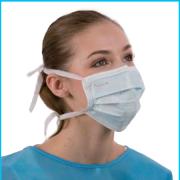 Masques chirurgicaux à lanières