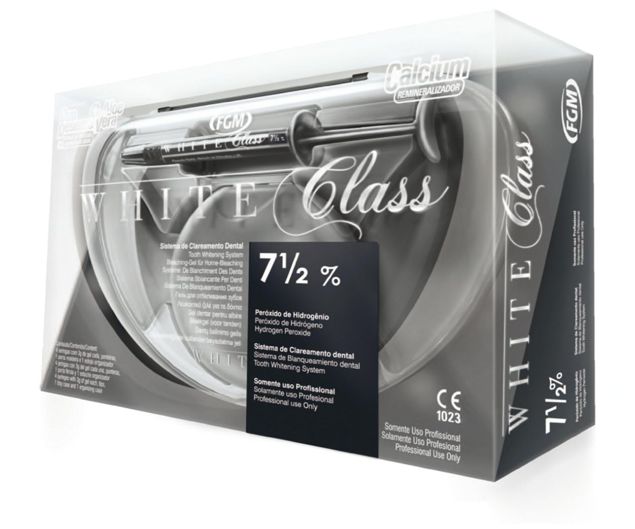 WHITE CLASS WITH CALCIUM-image